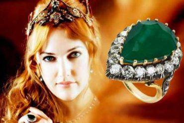 кольцо хюррем султан