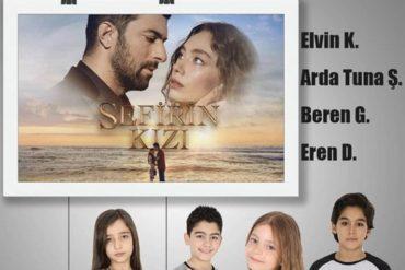 Дети в актерском составе турецкого сериала Дочь посла